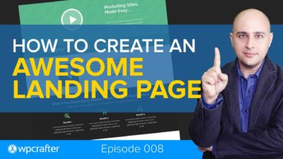 How-to Create An Amazing Landing Page In WordPress