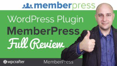 MemberPress Membership Plugin Review