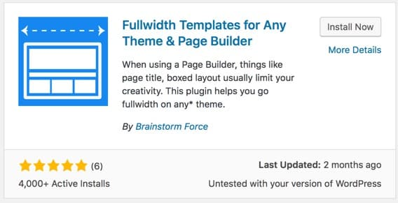 Make Any WordPress Page Builder To Work With Any Well Coded Theme