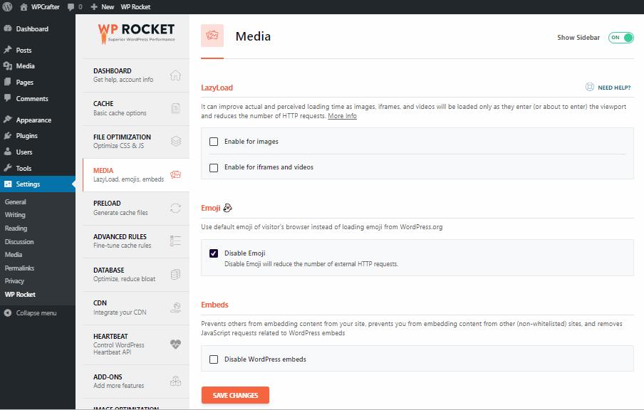 WP Rocket lazyload
