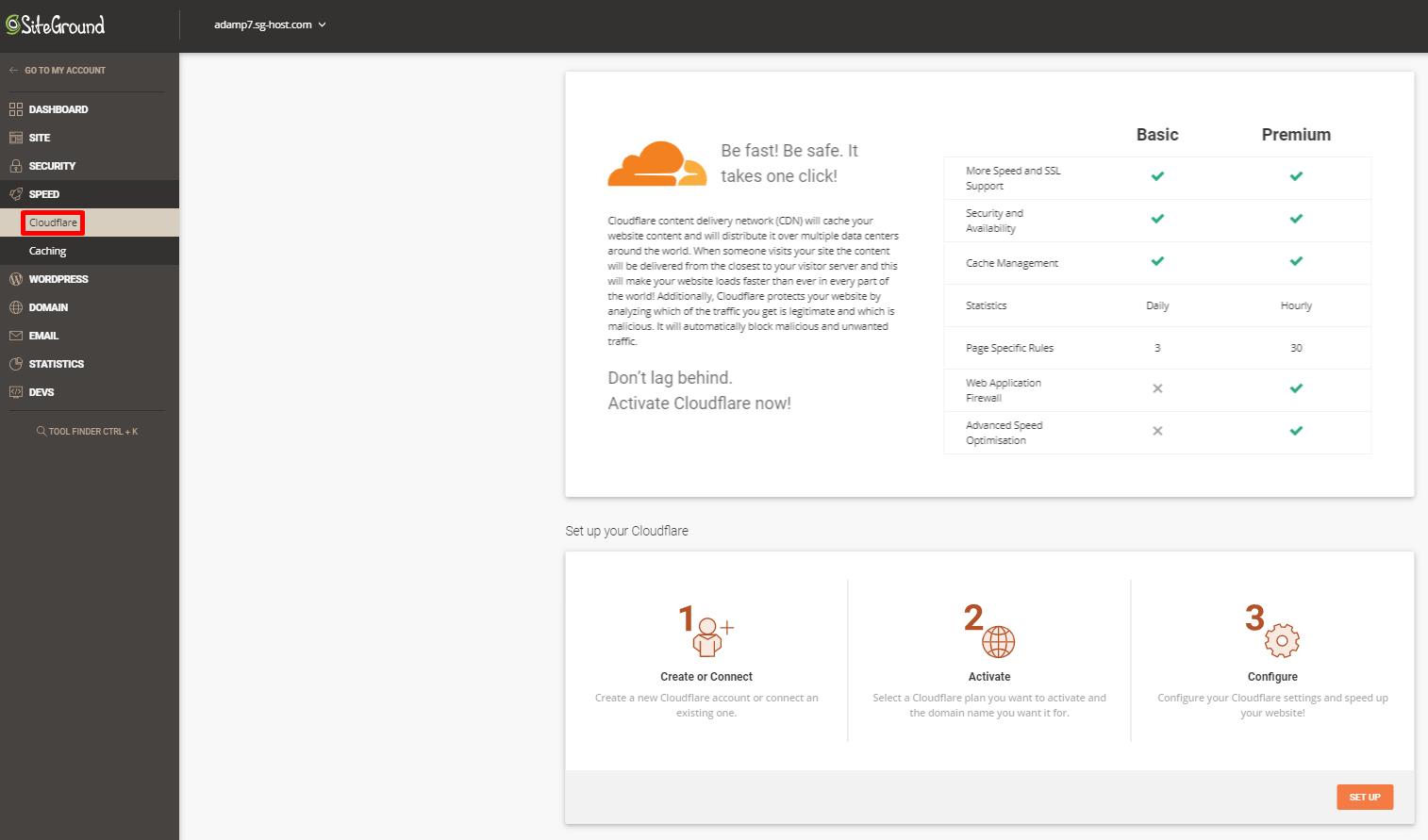 SiteGround Cloudflare CDN