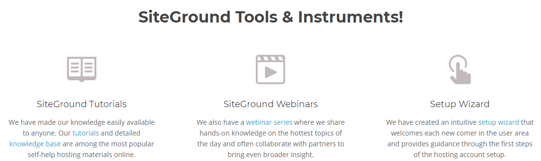 SiteGround Customer Support Channels 2