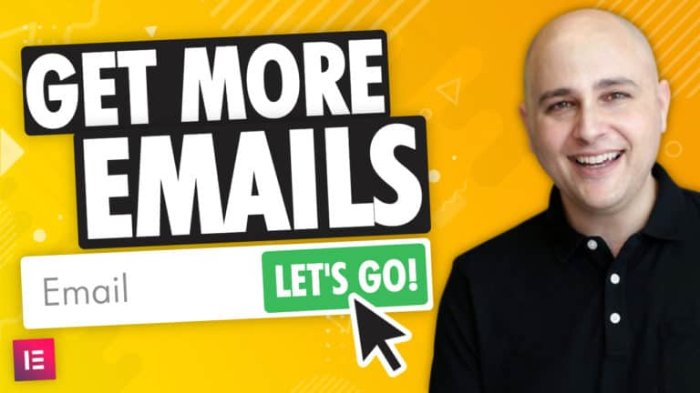 Get More Emails With A Minimalist Email Signup Form